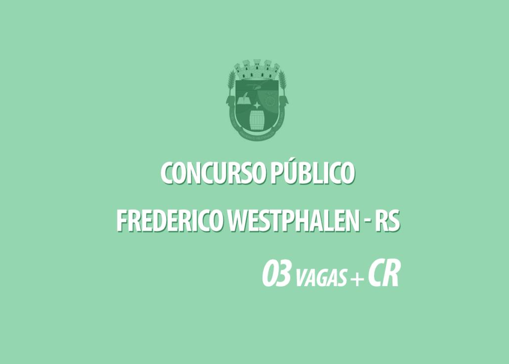 Concurso Prefeitura Frederico Westphalen - RS Edital 001/2020