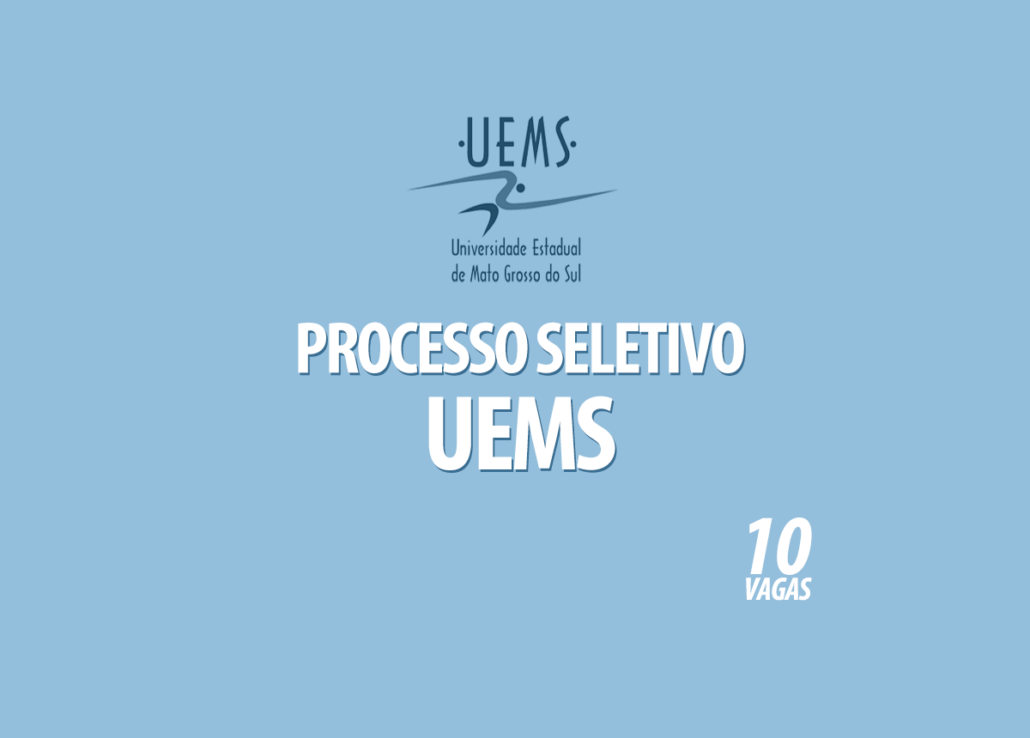 Processo Seletivo UEMS Edital 002/2020