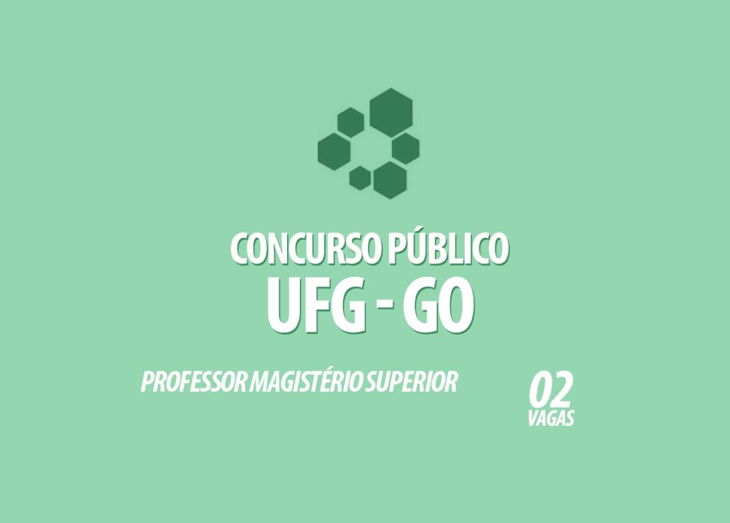 Concurso Público UFG Edital 011/2020